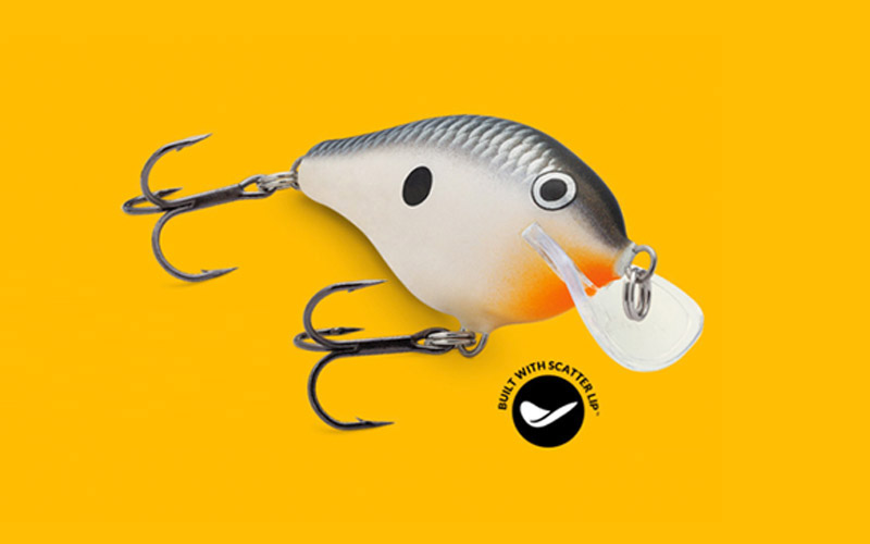 New Scatter Rap Crankbait Series from Rapala